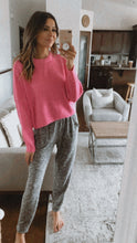 Load image into Gallery viewer, TICKLED PINK SPRING KNIT