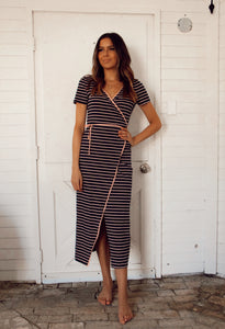 MADISON COMFY STRIPED DRESS