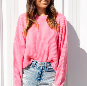 TICKLED PINK SPRING KNIT
