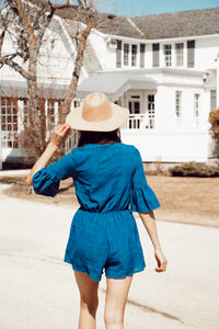 BLAIR BELL SLEEVE ROMPER