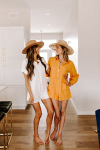SALE - SUMMER CITRUS ROMPER
