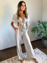 Load image into Gallery viewer, PARKER STRIPED JUMPSUIT