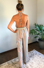 Load image into Gallery viewer, OVER THE RAINBOW OPEN BACK JUMPSUIT