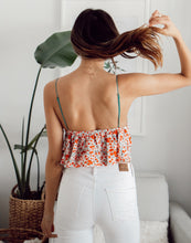 Load image into Gallery viewer, HARLOW FLORAL CROP TOP