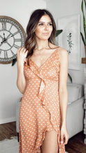Load image into Gallery viewer, MARIGOLD POLKA DOT MAXI DRESS