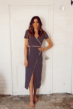 Load image into Gallery viewer, MADISON COMFY STRIPED DRESS