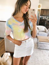 Load image into Gallery viewer, SALE - TIE-DYE CROP