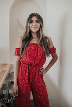 Load image into Gallery viewer, QUINN FLORAL JUMPSUIT
