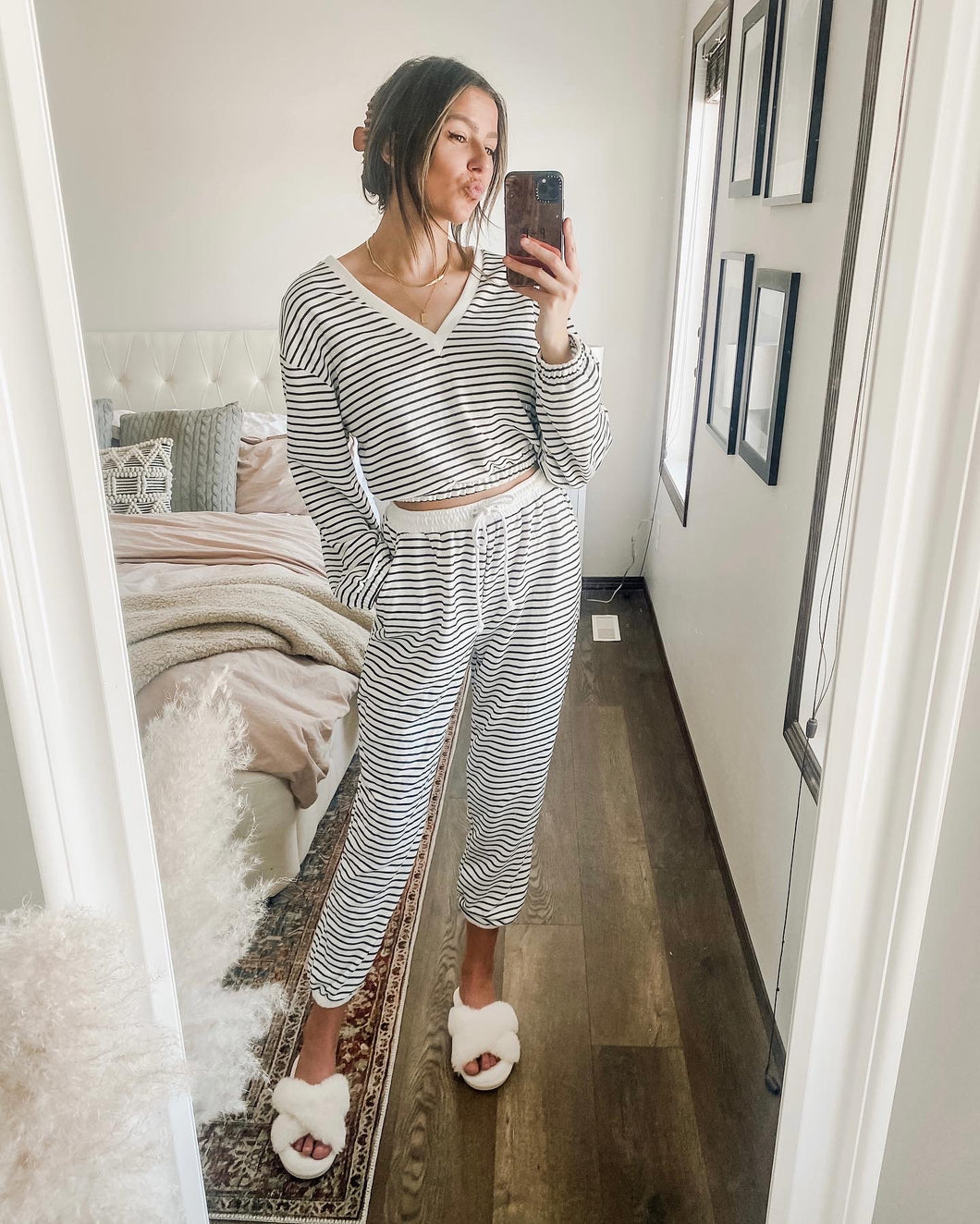 OPHELIA STRIPED SET