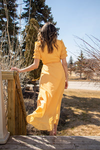 BRIGHTER DAYS YELLOW MAXI