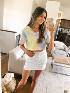 FINAL SALE - TIE-DYE CROP