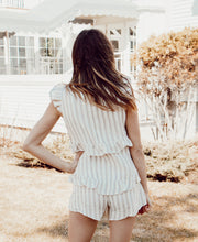Load image into Gallery viewer, HAYDEN STRIPED ROMPER