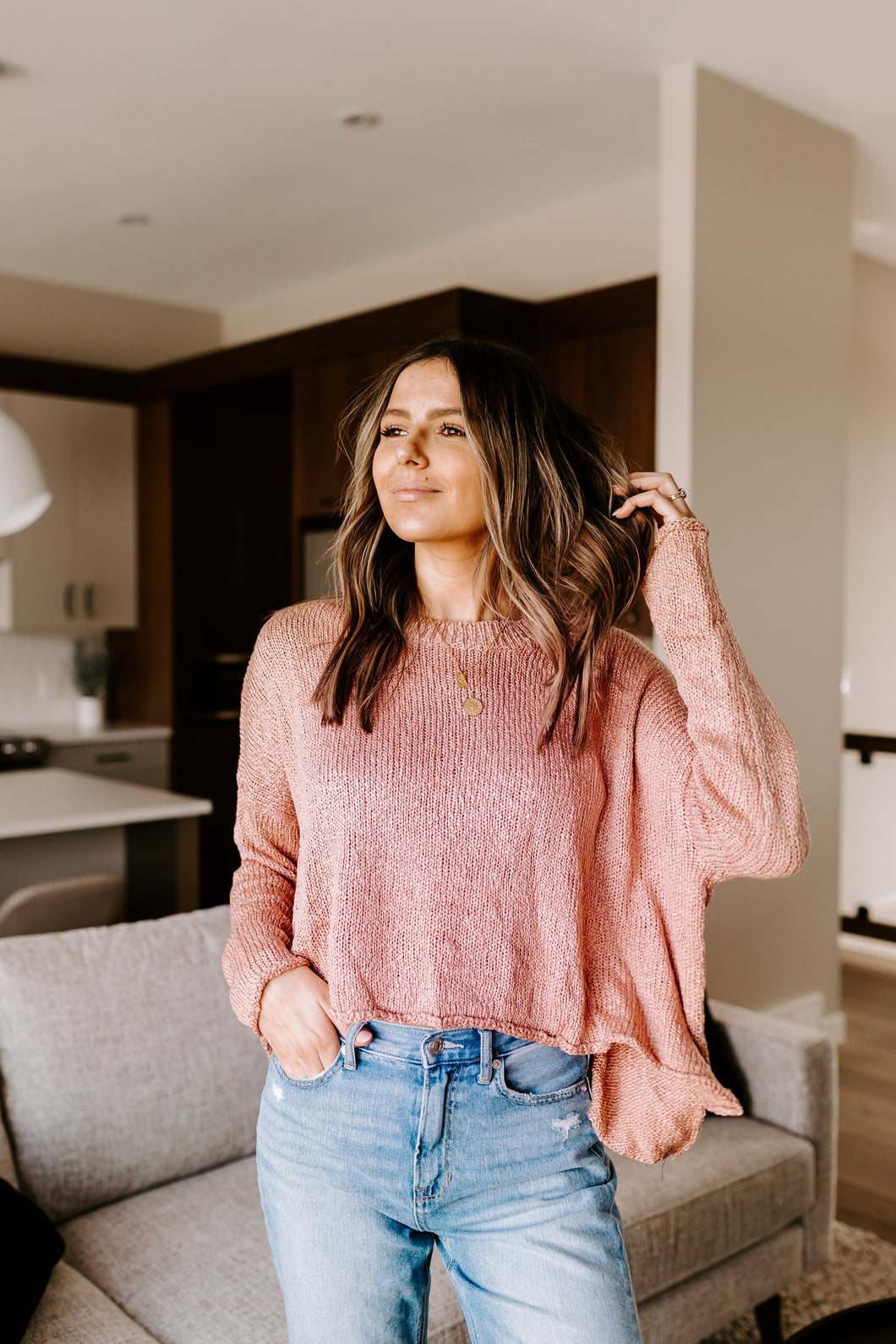 SLOANE SOFT SWEATER