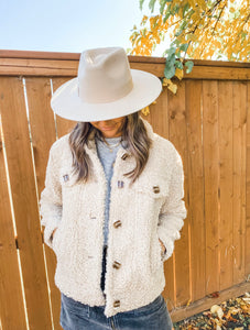 BLAIRE TEDDY COAT