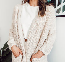 Load image into Gallery viewer, COZY KRISTA CARDIGAN