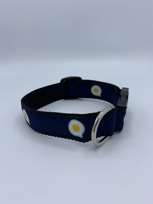 The Fried Egg Dog Collar