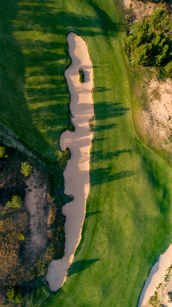 Sand Valley's Cross Bunker on the 7th