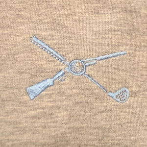 Shotgun Start Grey Quarter-Zip