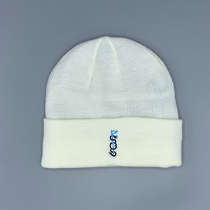 Shotgun Start White Winter Hat