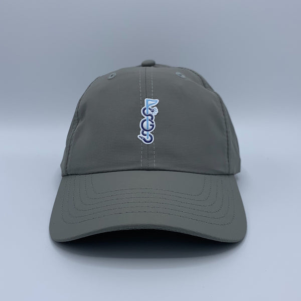 Shotgun Start Script Logo Grey Hat