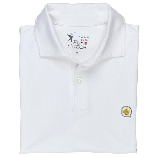 USA Solid Tech Jersey Polo by Fairway & Greene