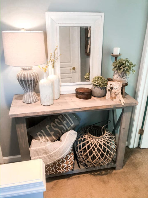 In-Home Styling: Custom Console