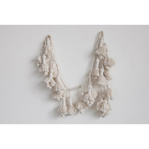 Hand-Woven Cotton Tassel Garland - Urban Farmhouse Market