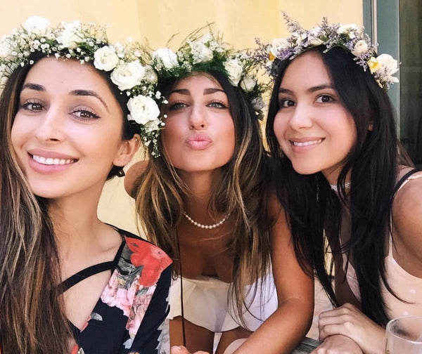 Flower crown, flower crowns, flower crowns los angeles, flower bar