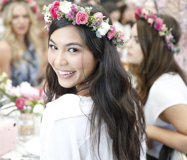Flower Crowns Los Angeles, Fresh Flower Crown, Flowercrown Bar Los Angeles, Victorias Secret