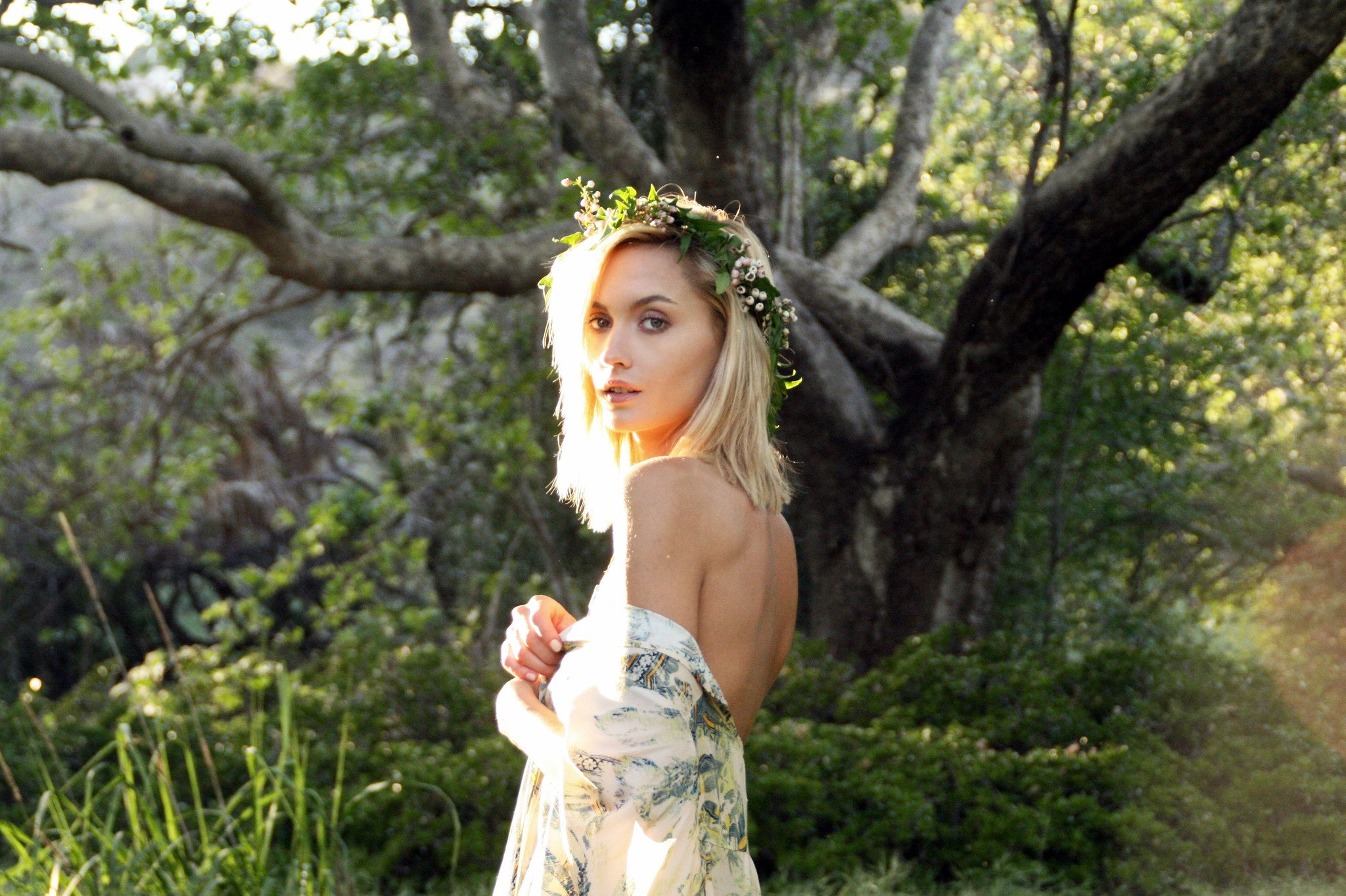 Flower Crowns Los Angeles, DIY Flower Crown, Malibu Florist, real flower crowns