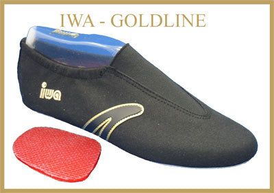IWA Goldline Black Gymnastics Shoe