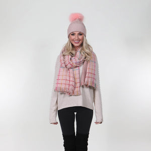 Katie Scarf Pink - MSC The Store