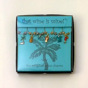 Beach Wine Charms