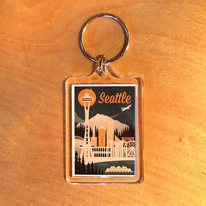 Seattle Keychain