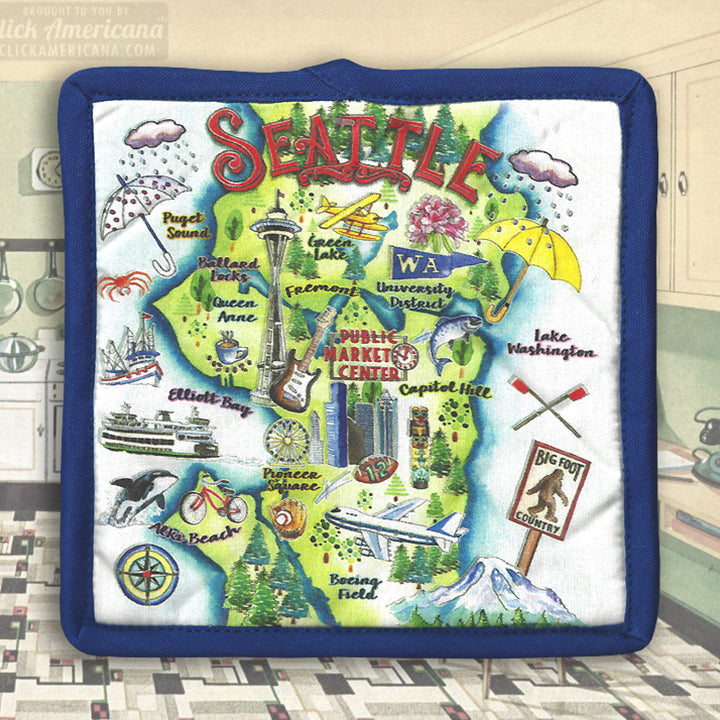 Seattle Potholder