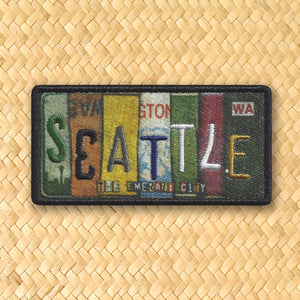 Seattle License Patch