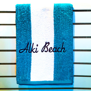 Alki Beach Towels