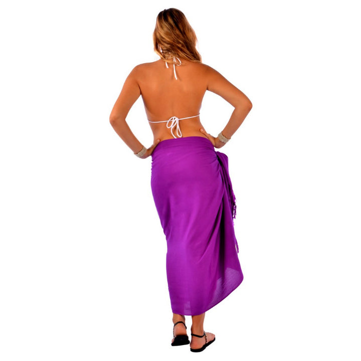 ROYAL PURPLE SARONG
