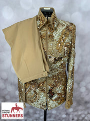 MamaMia one of a kind Showmanship Suit / jacket #1148