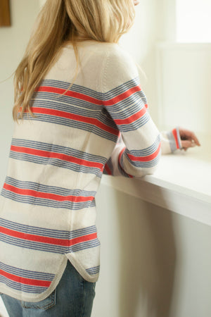 The Country Stripe Sweater