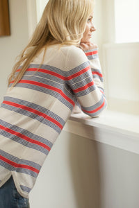 Country Stripe Sweater