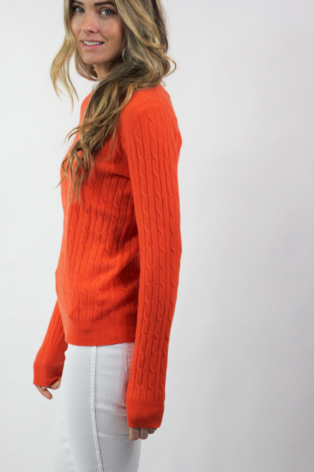 Classic Cable Sweater
