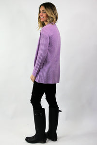 Cabled Duster Sweater