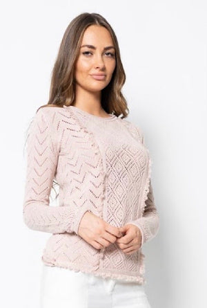 BRIE COTTON SWEATER