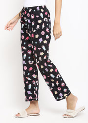 Black Unicorn Women's Pyjama Bottoms