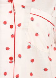 Strawberry Print Short Sleeve Nightsuit