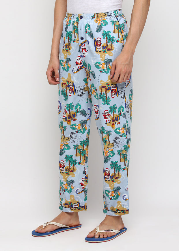 Santa By The Beach Men's Pyjama Bottoms