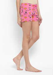 Miso Cute Print Shorts