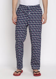 Christmas Tree Print Men's Pyjama Bottoms