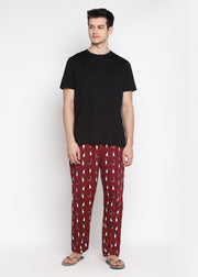 Penguin Print Men's Pyjama Bottoms